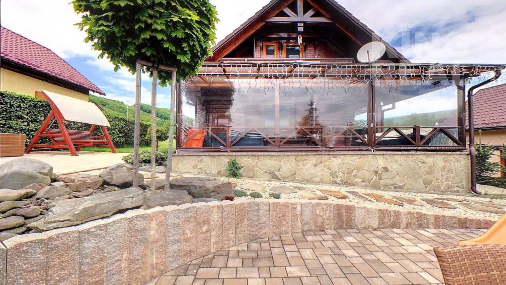 Rekreačná chata vhodná na celoročné bývanie v Regetovke okr. Bardejov