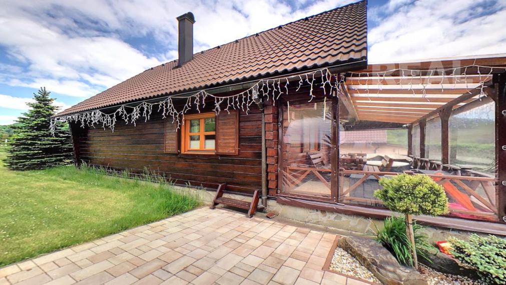Drevený zrub vhodný na celoročné bývanie v Regetovke okr. Bardejov